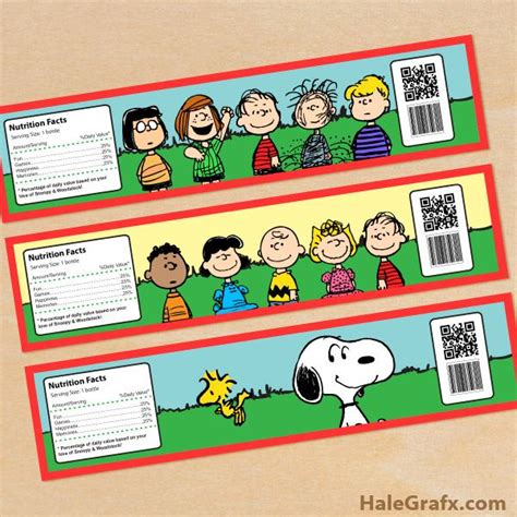 printable snoopy birthday decorations free printable peanuts water bottle labels peanuts