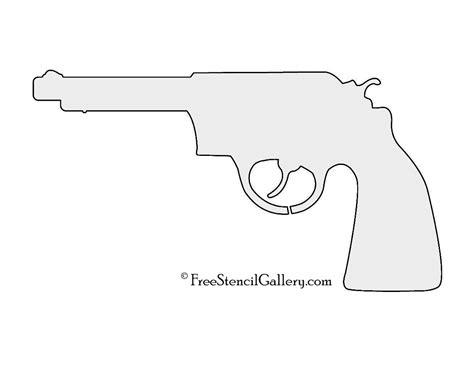 printable gun stencils revolver 01 stencil free stencil gallery