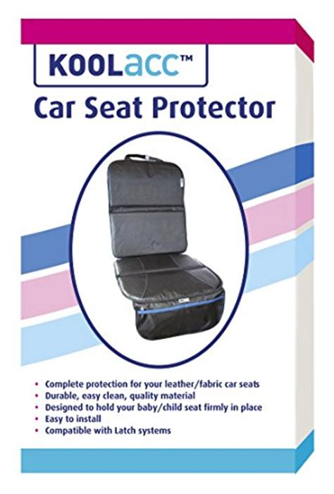 Best Car Upholstery Protector by Car Seat Protector By Koolacc Ideal Seat Protector