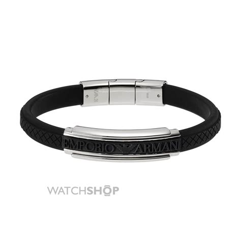 Men's Armani Stainless Steel Bracelet (EGS1426040)   WATCH SHOP.com?