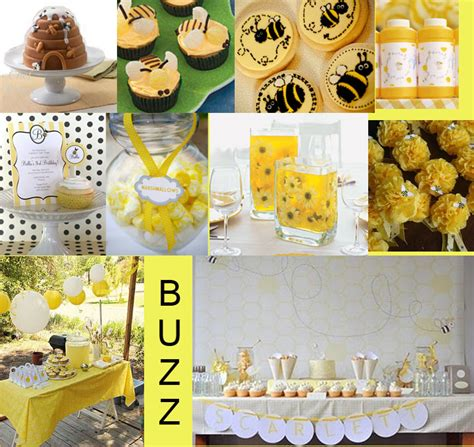 Bee Baby Shower Ideas by Bumble Bee