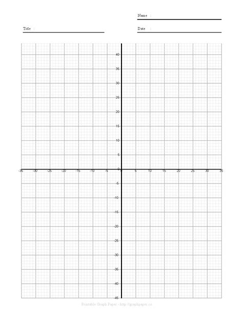 printable graph paper with numbered axis graph paper with axis printable graph paper