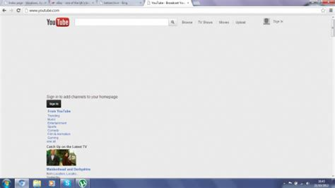 youtube layout is messed up view topic chromium is screwing up betaarchive