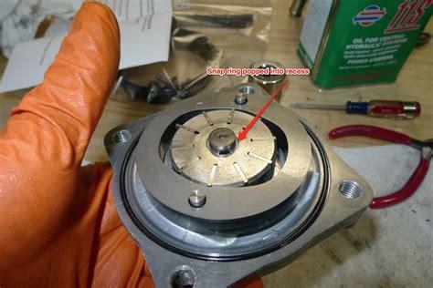Seal Power Steering Great Corolla power steering rebuild diy page 2 rennlist