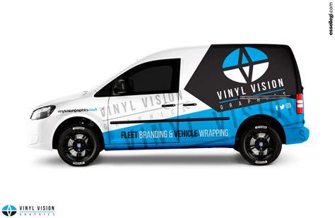 design van graphics volkswagen caddy van wrap design by essellegi wrap design