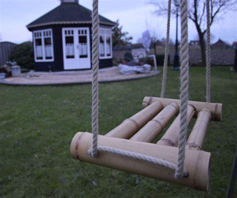 bamboo swings bamboo swing
