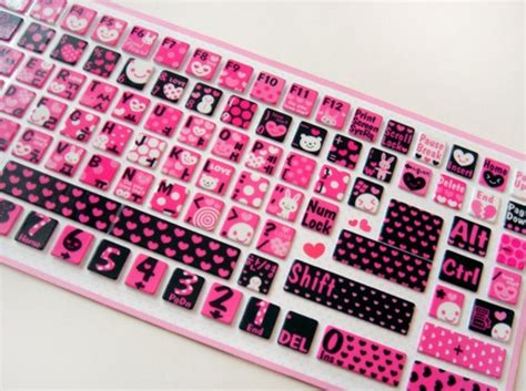 Hello Computer Covers by Keyboard Pinkhairbrush Bling Laptop