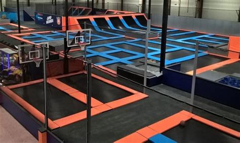 admission or birthday party helium trampoline park | groupon