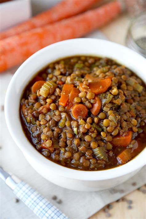 Vegan Lentil Detox Soup by Vegan Lentil Soup Recipe Pickled Plum Food And Drinks