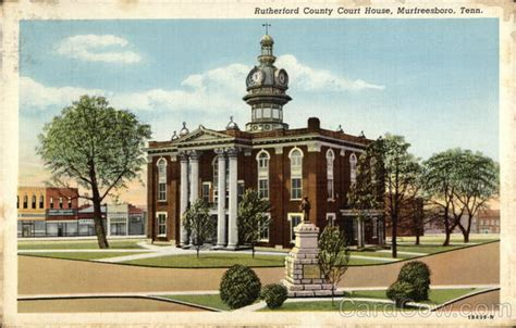 Rutherford County Tn Court Records Rutherford County Court House Murfreesboro Tn