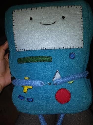 Gift Letter Bmo handsewn bmo from adventure time plushie plushies 2014