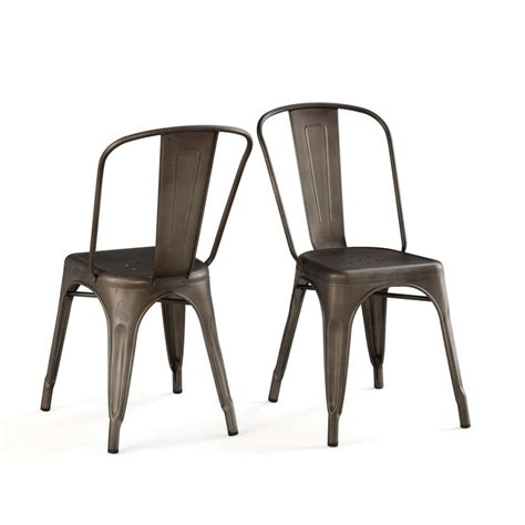 bistro steel side chairs 83 best images about stools on industrial