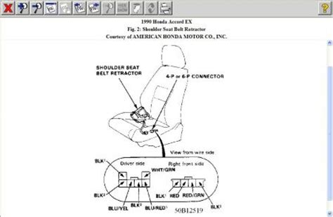 1990 honda accord power seat belt: ok first i am 16 years