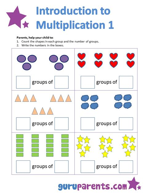 Multiplication Worksheets With Pictures