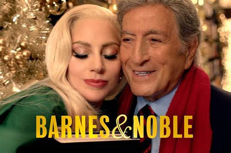 commercial lady gaga barnes and noble barnes noble chairman creates tv ad with tony bennett