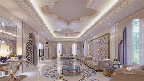womens majlis interior design  dubai uae  spazio