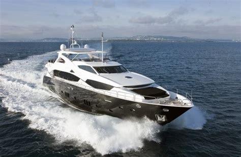 black  white yacht charter details sunseeker charterworld luxury superyachts