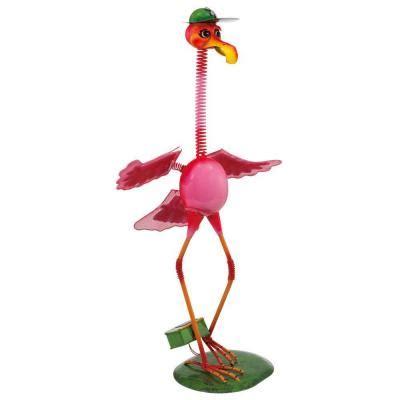 flamingo solar lights eglo outdoor solar flamingo pink led light 47435 the