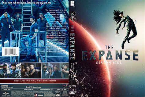 Two Cover by The Expanse Staffel 1 Dvd Cover Labels 2016 R2 German