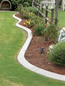 landscape concrete edging landscaping landscape curbing
