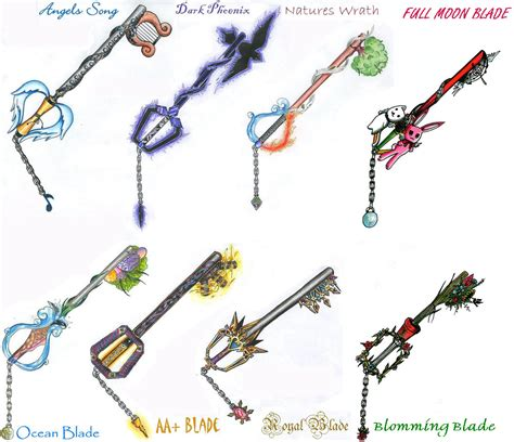 the power of fake keyblades video games pinterest