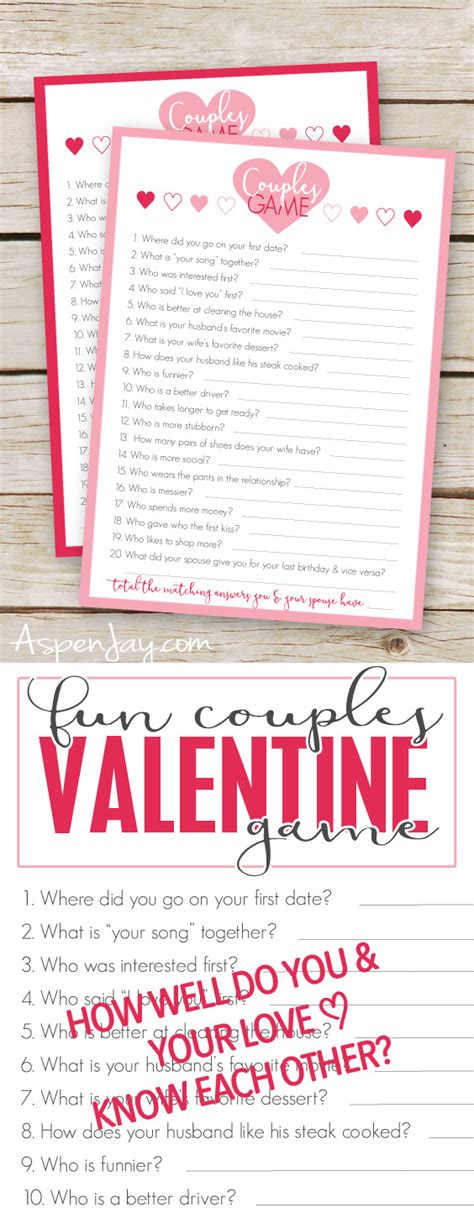 how many valentines were there free valentines couples cards aspen