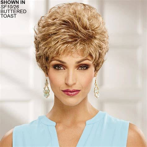 how to get a paula deen haircut hairstyle gallery whisperlite 174 colleen wig by paula young 174 brunette wigs