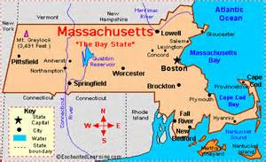 Massachusetts On Map by Massachusetts Israel Cooperation