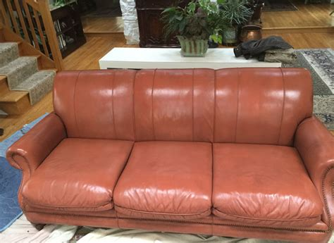 ashley furniture couch repair leather sofa repair we can recolour leather that has been