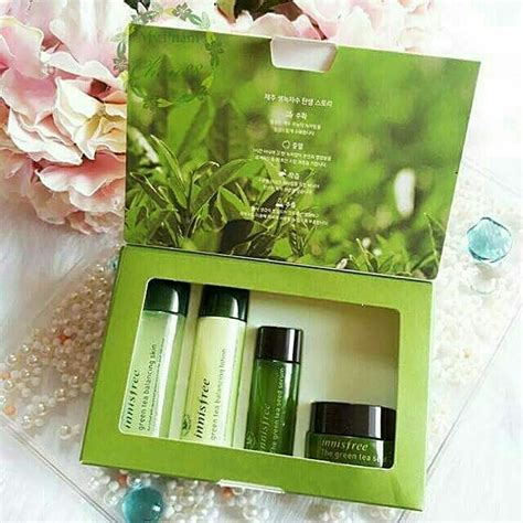 Harga Innisfree Green Tea Special Kit innisfree green tea special kit 4 items kesehatan