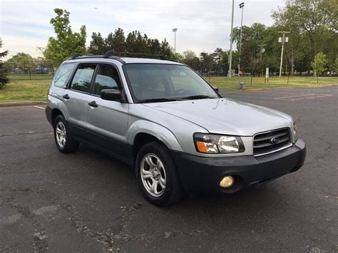 low mileage 2004 subaru forester x 4 215 4 for sale