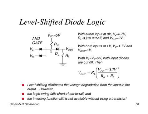 schottky diode level shifter ttl transistor transistor logic