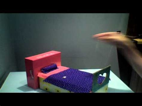 how to make your bed higher how to make a bed for your doll monster high youtube
