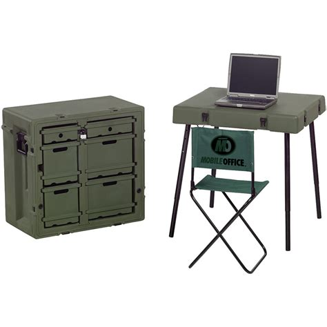 field desk administrative field desk with chair table olive drab