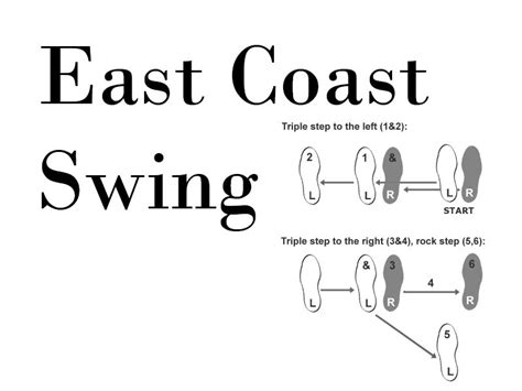 how to east coast swing step merengue watch videos of the steps by clicking on the