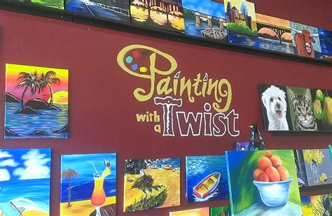 paint with a twist refund painting with a twist in orlando set your creative side
