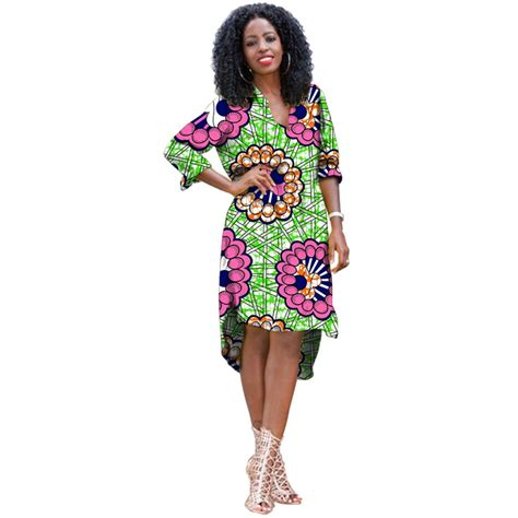 african print clothing for ladies elegant women african print pullover long shirt stand