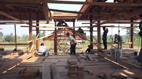 Building a Traditional Vastu   correct Thai House   YouTube