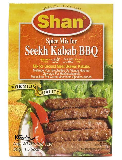 Kebab Kebab Frozen Beef Turki Rasa Original shan seekh kebab masala halal food