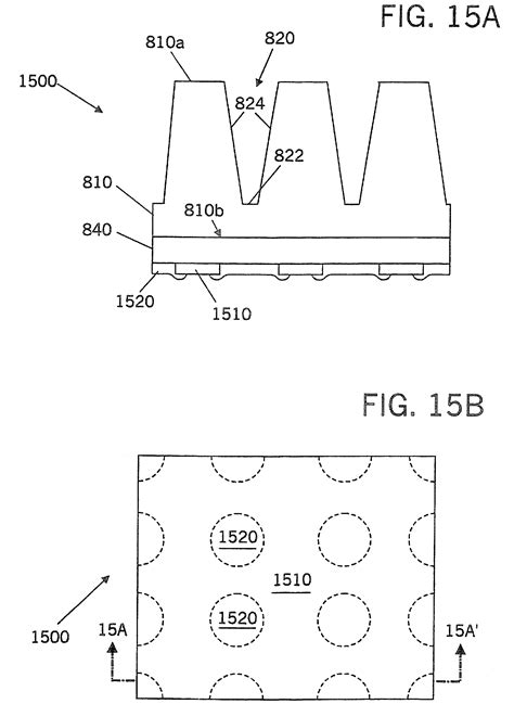 light emitting diode reflector patent us8426881 light emitting diodes including two reflector layers patents
