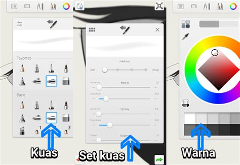 tutorial smudge sketchbook apk tutorial sketchbook android cara membuat mata dan alis