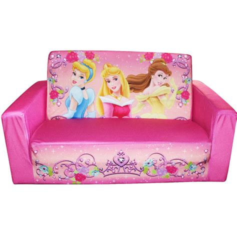 disney princess recliner fun furniture flip open sofa walmart com