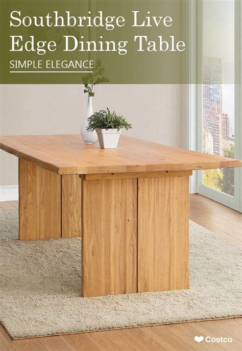 southbridge live edge dining table 245 best images about kitchen on wine