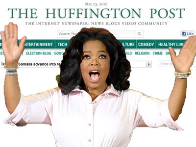 huffington post sections oprah s gets huffington post channel business insider