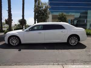 Limo Chrysler 300 New 2014 Chrysler 300 Sedan Limo Specialty Conversions