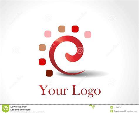 free logo design unique a set of unique logo design royalty free stock image