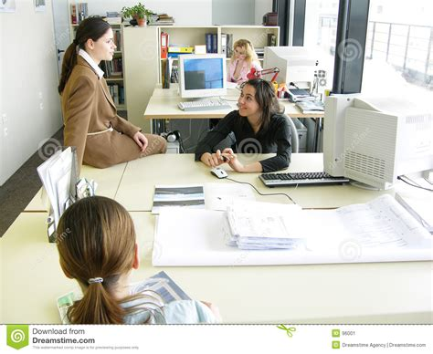 Office Chat by Office Chat 2 Stock Image Image 96001