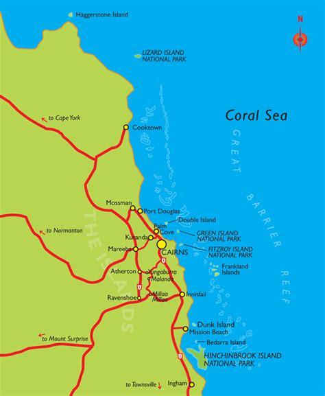 cairns douglas where is douglas australia map