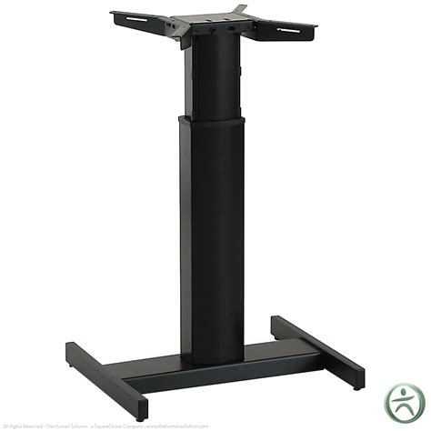 sit stand desk base shop conset 501 19 8x060 center electric sit stand desk base