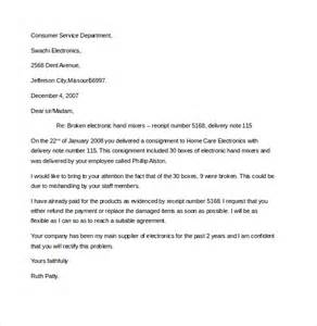 Business Letter Format Complaint business complaint letter templates free sample example format